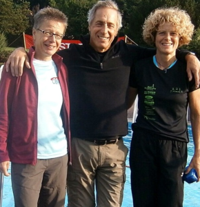 v. links: Simone Ziebart, Otto Lück, Petra Kreher