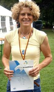 1. Platz W50 Petra Kreher