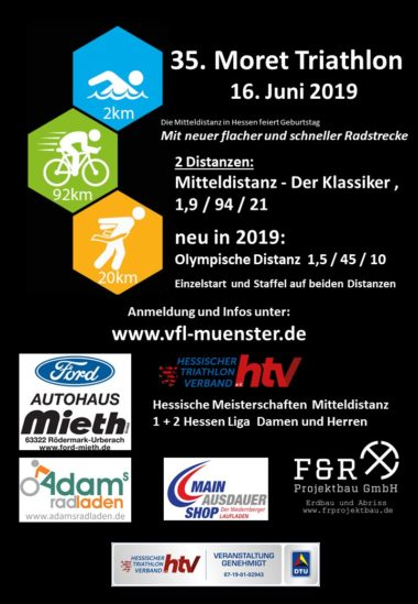 Flyer Moret Triathlon